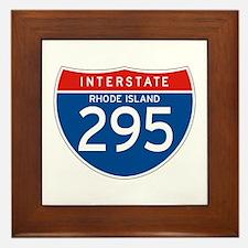 Interstate 295 - RI Framed Tile