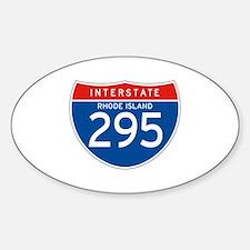 Interstate 295 - RI Oval Decal