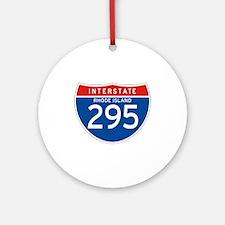 Interstate 295 - RI Ornament (Round)