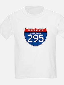 Interstate 295 - RI Kids T-Shirt