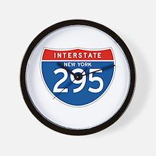 Interstate 295 - NY Wall Clock