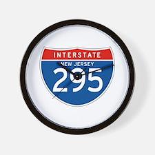Interstate 295 - NJ Wall Clock