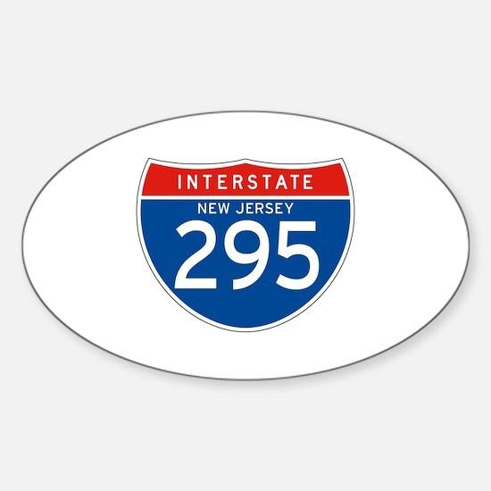 Interstate 295 - NJ Oval Decal