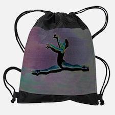 Grand Jete Purple.png Drawstring Bag