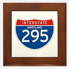 Interstate 295 - MD Framed Tile