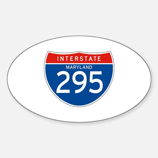 Interstate 295 - MD Oval Decal