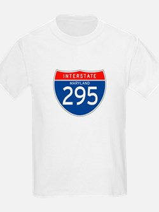 Interstate 295 - MD Kids T-Shirt