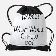 Cute What would palmer do Drawstring Bag