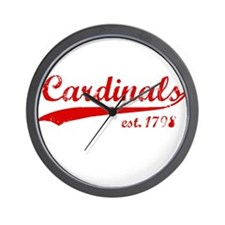 Cardinals Wall Clock