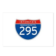 Interstate 295 - MA Postcards (Package of 8)