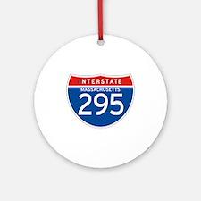 Interstate 295 - MA Ornament (Round)