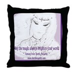 May the Magic Throw Pillow
