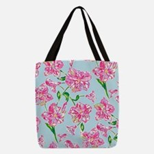Pink 'n' Pretty Polyester Tote Bag
