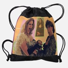 MonaGirls2.jpg Drawstring Bag