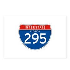 Interstate 295 - FL Postcards (Package of 8)