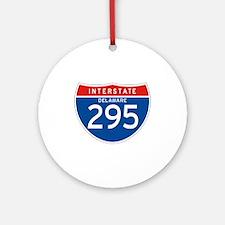 Interstate 295 - DE Ornament (Round)