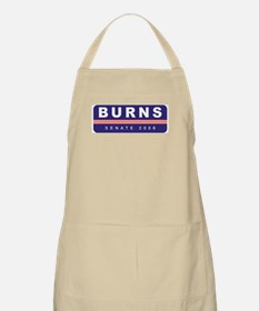 Support Conrad Burns BBQ Apron