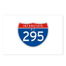 Interstate 295 - DC Postcards (Package of 8)