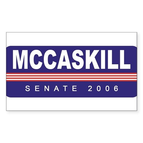 Support Claire McCaskill Rectangle Sticker
