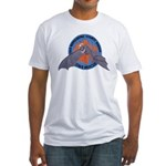 San Bernardino Cave Rescue Fitted T-Shirt