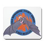 San Bernardino Cave Rescue Mousepad