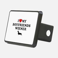 I Love My Boyfriends Wiener Hitch Cover