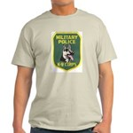 Military Police Canine Ash Grey T-Shirt