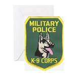 Military Police Canine Greeting Cards (Package of