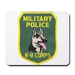 Military Police Canine Mousepad