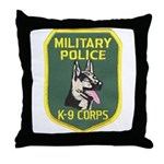 Military Police Canine Throw Pillow