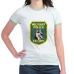 Military Police Canine Jr. Ringer T-Shirt