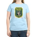 Military Police Canine Women's Pink T-Shirt
