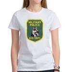 Military Police Canine Women's T-Shirt
