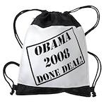 OBAMA STAMP copy.png Drawstring Bag