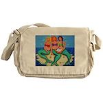 Mermaids Merbabes Beach Messenger Bag