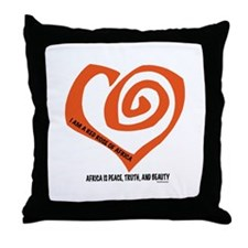 AIDS FUNDRAISING Throw Pillow
