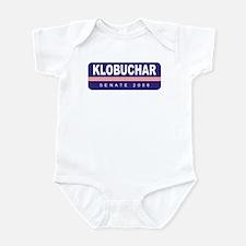 Support Amy Klobuchar Infant Bodysuit