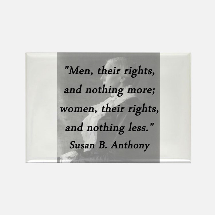 Anthony - Men Women Rights Magnets