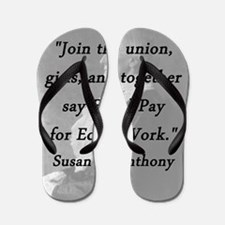 Anthony - Join the Union Flip Flops