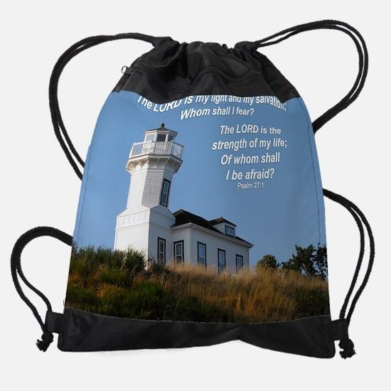 my light ps27 1 mou... Drawstring Bag