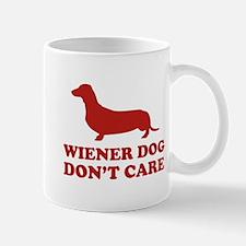 Wiener Dog Don't Care Mug