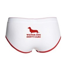 Wiener Dog Don't Care Women's Boy Brief