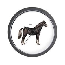 Morgan Horse Wall Clock