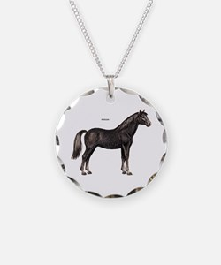 Morgan Horse Necklace