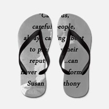 Anthony - Cautious Careful People Flip Flops