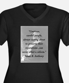 Anthony - Cautious Careful People Plus Size T-Shir