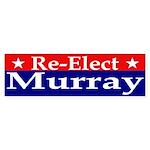 Re-Elect Murray Bumper Sticker