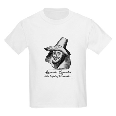 Guy Fawkes T-Shirt - Kid's Size