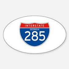 Interstate 285 - GA Oval Decal