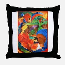 Earth, Wind,and Fire Art Throw Pillow